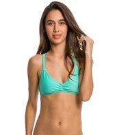 Volcom Swimwear Simply Solid V Neck Bikini Top