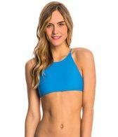 Volcom Swimwear Simply Solid Crop Bikini Top