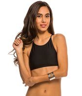 Volcom Swimwear Simply Solid Crop Bikini Top