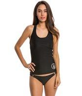Volcom Swimwear Simply Solid Tankini Rashguard