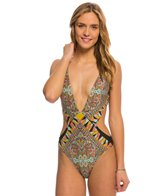 Volcom Swimwear Stone Row One Piece Swimsuit