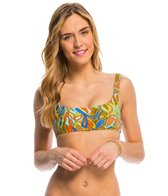 Volcom Faded Flowers Crop Bikini Top