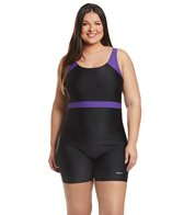 Sporti Plus Unitard Colorblock  Swimsuit