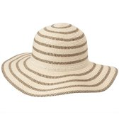 Sun N Sand Women's Paper Braid Two Tone Hat