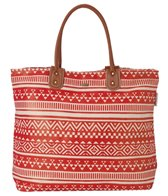 Sun N Sand Women's Beach Canvas Cable Bay Tote Bag