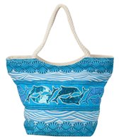 Sun N Sand Women's Dolphin Shells Scoop Tote Bag