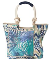 Sun N Sand Women's A Touch of Flourish Scoop Tote Bag