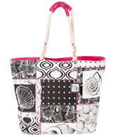 Sun N Sand Women's Shell Chic Shoulder Tote Bag