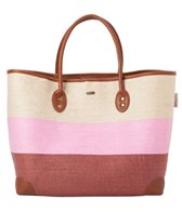 Sun N Sand Women's Natural and Paper Straw Dalona Shoulder Tote Bag