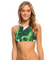 Stone Fox Swim Swimwear Banana Leaf Namema Crop Bikini Top