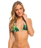 Stone Fox Swim Swimwear Banana Leaf Natasha Triangle Bikini Top