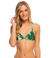 Stone Fox Swim Swimwear Banana Leaf Isla Triangle Bikini Top