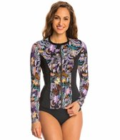 Fit4U Swimwear Cabana Long Sleeve Rashguard