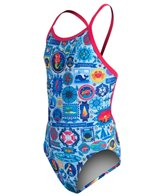 Amanzi Girls' Seafarer One Piece Swimsuit