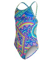 Amanzi Girls' Tribal Vibe One Piece Swimsuit