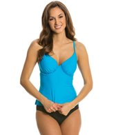 Body Glove Swimwear Smoothies Solo D Cup Tankini Bikini Top