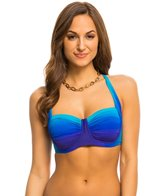 BLEU Rod Beattie Some Like It Hot Sling X Back Molded Bikini Top (D Cup)