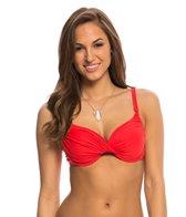BLEU Rod Beattie Gilt Trip Solid Underwire Molded Bikini Top
