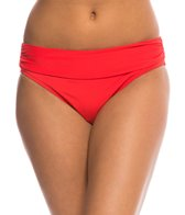 BLEU Rod Beattie Gilt Trip Solid Midster Bikini Bottom
