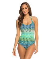 BLEU Rod Beattie Heatwave Racerback Tank One Piece Swimsuit