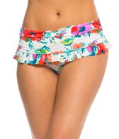 BLEU Rod Beattie Fresh Start Ruffle Skirted Hipster Bikini Bottom