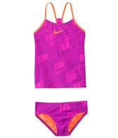 Nike Swimwear Girls' Nike Print Raceback Tankini Two Piece Swimsuit (7yrs-14yrs)