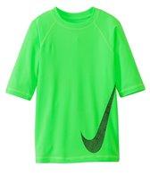 Nike Swimwear Boys' Hydro UV Heat Swoosh S/S Rashguard (7yrs-18yrs)