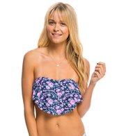 Hot Water Swimwear Best Buds Flounce Bandeau Bikini Top