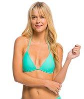 Hot Water Swimwear Solid Push Up Triangle Bikini Top