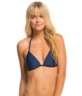Hot Water Swimwear Solid Push Up Triangle Bikini Top