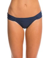 Hot Water Swimwear Solid Soft Tab Bikini Bottom