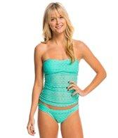 Hot Water Swimwear Easy Breezy Bandeaukini Bikini Top