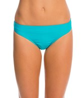 Hot Water Swimwear Solid Hipster Bottom