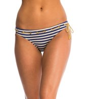 Jessica Simpson Swimwear Sweet Sailor Classic Hipster Bikini Bottom