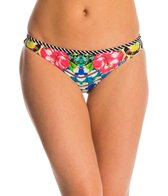 Red Carter Shangri La Reversible Classic Hipster Bikini Bottom