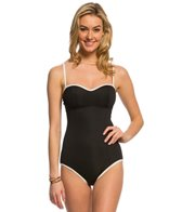 Coco Rave Stardust Solid Blake One Piece Swimsuit (C/D/DD Cup)