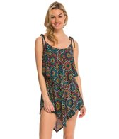 Coco Rave Swimwear Sparkly Medallion Zoe Cover Up Dress