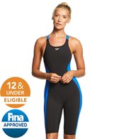 Speedo Women's Powerplus Kneeskin Tech Suit Swimsuit