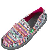 Sanuk Women's Donna Tribal Sidewalk Surfer Slip On