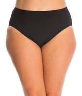 Gottex Plus Size Lattice High Waist Bikini Bottom