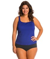 Gottex Plus Size Diamond in the Rough Tankini Top