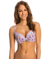 Profile Blush Avante Garden Soft Foam Underwire Bikini Top (D/E/F Cup)