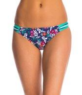 Profile Blush Hummingbird Shirred Side Tab Hipster Bikini Bottom