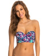 Profile Blush Hummingbird Underwire Foam Bustier Bikini Top (D/E/F Cup)