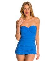 Profile by Gottex Tutti Frutti Bandeau Swim Dress