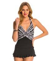 Profile by Gottex Madeira Halter Swim Dress