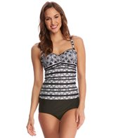 Profile by Gottex Madeira Tankini Top (D-Cup)