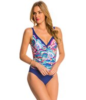 Profile by Gottex Madame Butterfly One Piece Swimsuit