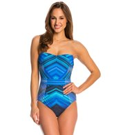 Gottex Venice Bandeau One Piece Swimsuit