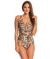 Gottex Sahara Surplice One Piece Swimsuit
